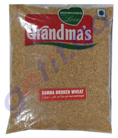 Wheat - GRANDMAS SAMBA BROKEN WHEAT - 1KG