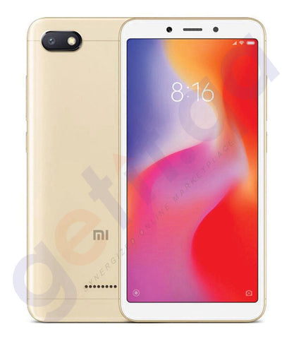 SHOP FOR XIAOMI REDMI 6A DUAL SIM - 2GB-16GB - 4G IN QATAR