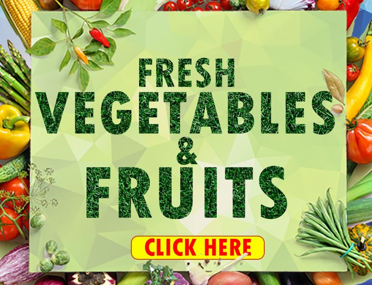 Only the best and selected vegetables and fruits at your doorstep with cash card on delivery anywhere in Qatar only at Getit.qa