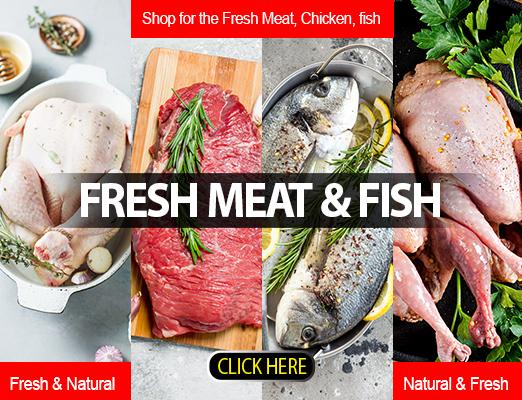 Only the best and selected fresh meat and fish at your doorstep with cash card on delivery anywhere in Qatar only at Getit.qa