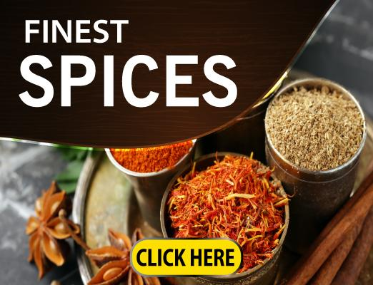Only the best and selected spices at your doorstep with cash card on delivery anywhere in Qatar only at Getit.qa