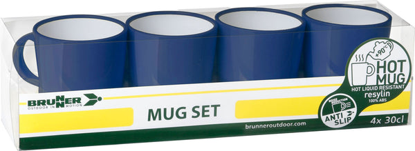 BRUNNER Mug Set Marine