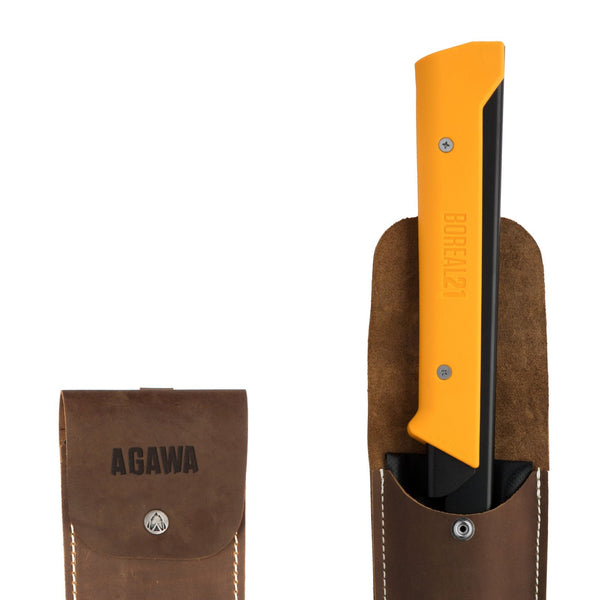 AGAWA Crazy Horse Leather Sheath 21