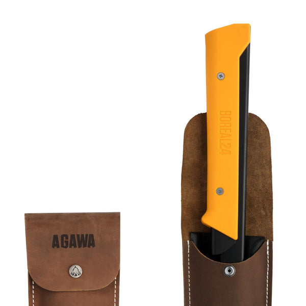 AGAWA Crazy Horse Leather Sheath 24