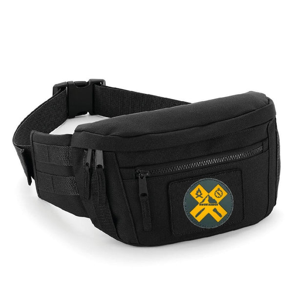PARATUS Patch Pouch Black