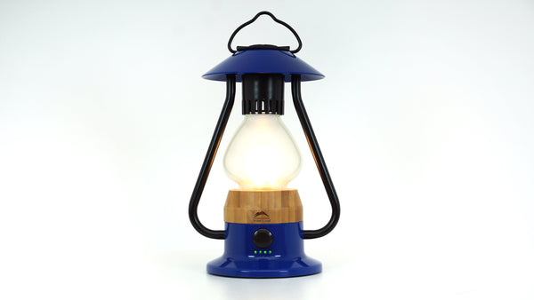 WILD LAND The 5 Element Lantern Blau