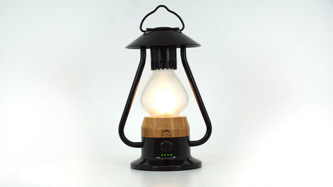 WILD LAND The 5 Element Lantern Schwarz