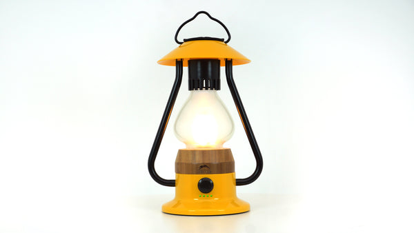 WILD LAND The 5 Element Lantern Gelb
