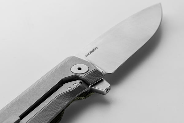 LIONSTEEL Myto Green Canvas