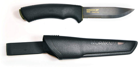 MORA Bushcraft Black SRT