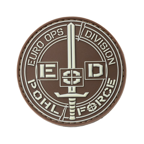 POHLFORCE Patch Euro Ops Division Gen2 Brown