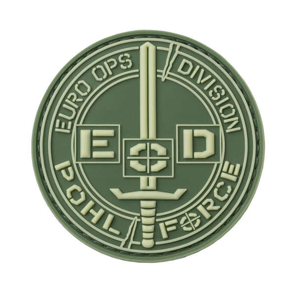 POHLFORCE Patch Euro Ops Division Gen2 Green