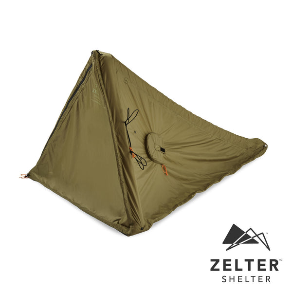 Zelter Shelter - Wearable Mystery Green