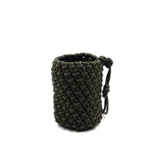 "Paracord Flaschenhalter ""Blackops"""