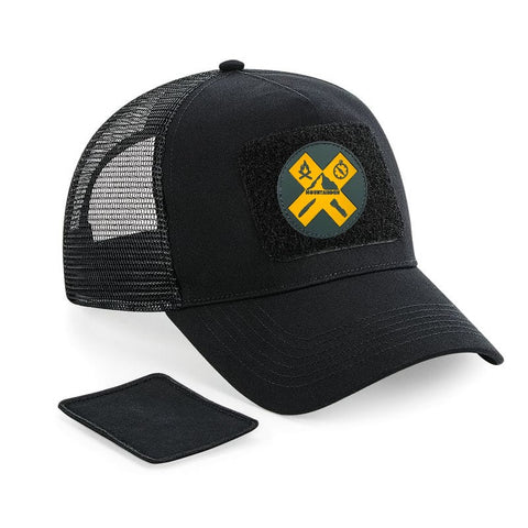 PARATUS Patch Cap Black