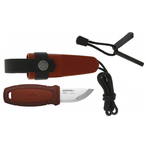 MORA Eldris Neck Knife Red (Feuerstarter-Kit)