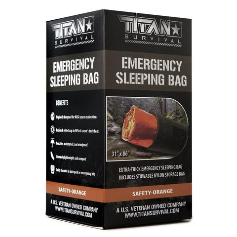 TITAN «Emergency Sleeping Bag» Safety Orange