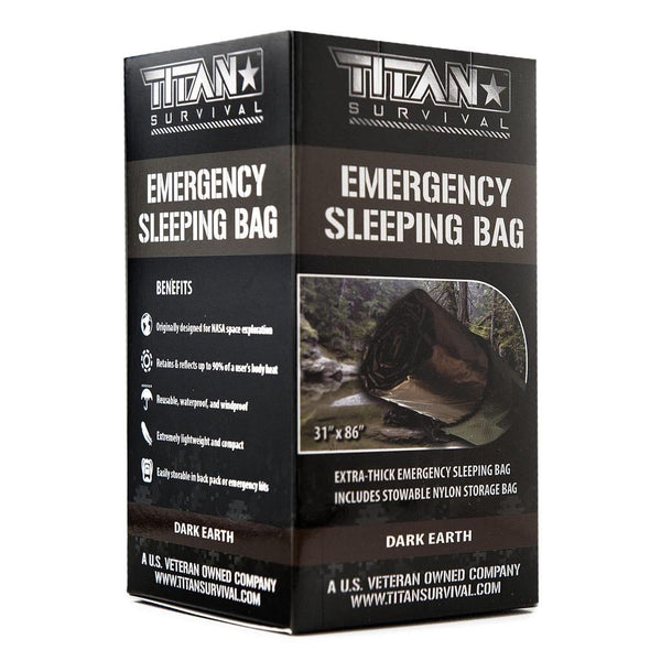 TITAN «Emergency Sleeping Bag» Dark Earth