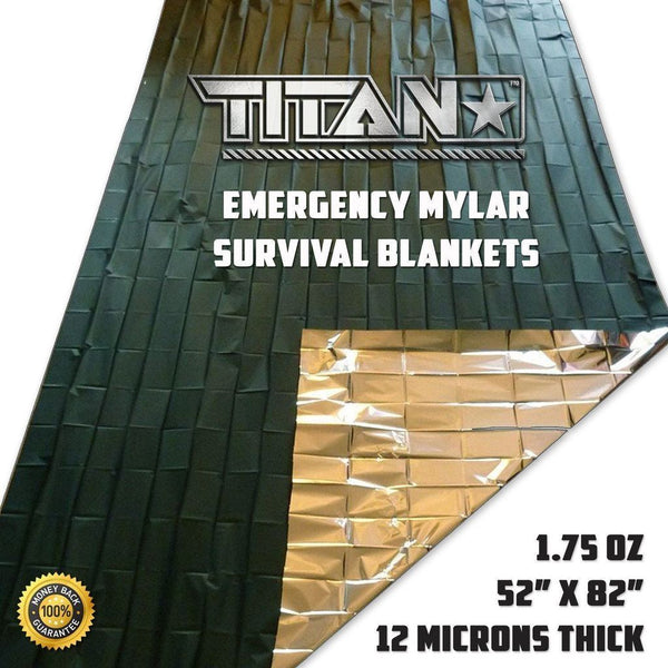 TITAN «Emergency Blanket» Olive-Drab
