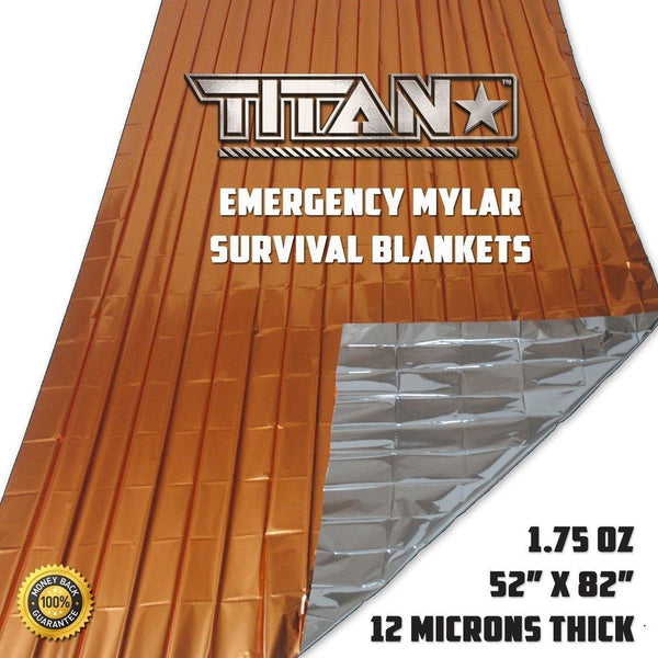 TITAN «Emergency Blanket» Safety-Orange