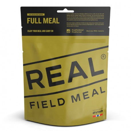 "REAL Field Meal ""Couscous Linsen und Spinat"""