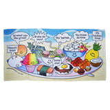 Hawaiian Slang Beach Towel - Hello Sushi Store