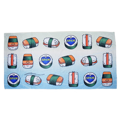 Spam Beach Towel - Hello Sushi Store