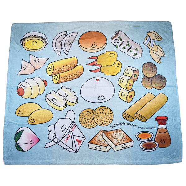 Dim Sum Blanket by Hello Sushi Store