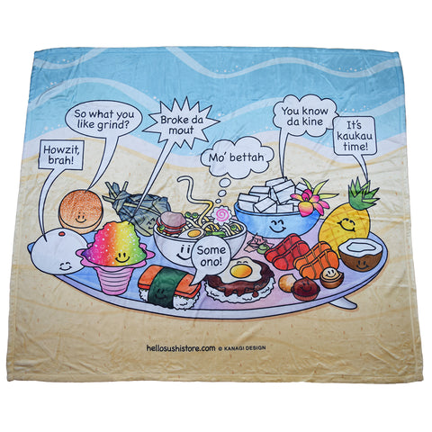 Hawaiian Slang Blanket