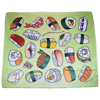 Sushi Blanket by Hello Sushi Store