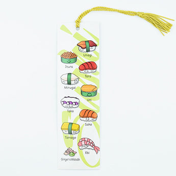 Happy Sushi Bookmark - Hello Sushi Store