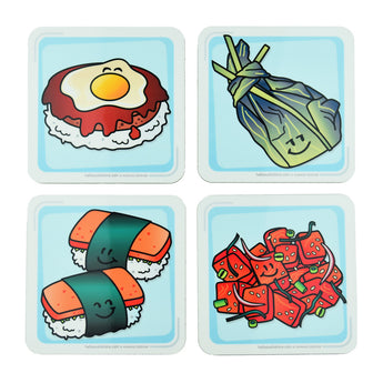 Hawaiian Coasters - Hello Sushi Store