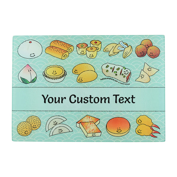 Custom Cutting Board (Dim Sum) by Hello Sushi Store