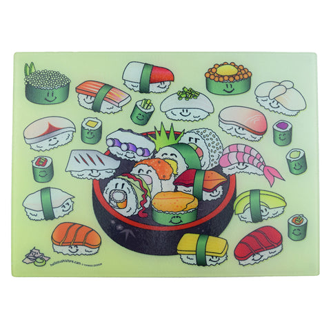 Sushi Dish Cutting Board (Large) - Hello Sushi Store