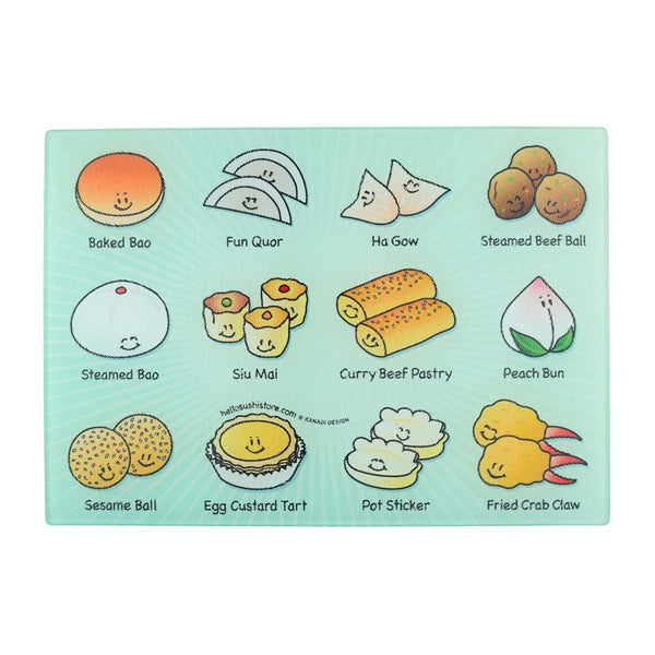 Dim Sum Cutting Board (Small) - Hello Sushi Store