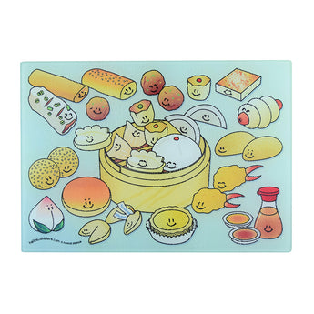 Dim Sum Basket Cutting Board (Small) - Hello Sushi Store