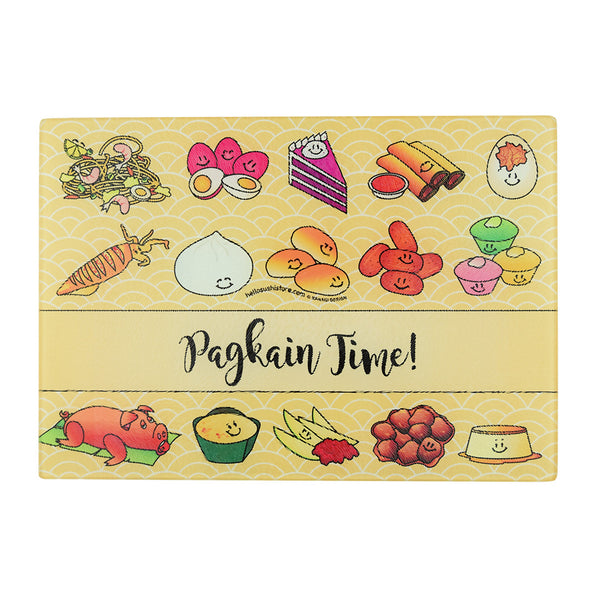 Pagkain Time Cutting Board (Small) - Hello Sushi Store