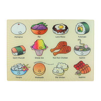 Hawaiian Cutting Board (Small) - Hello Sushi Store