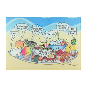 Hawaiian Slang Cutting Board (Small)