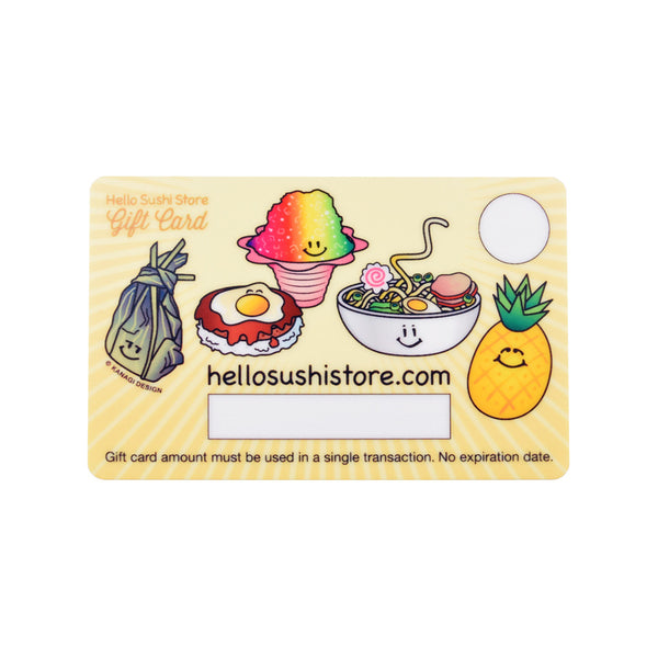 Hawaiian Gift Card - Hello Sushi Store