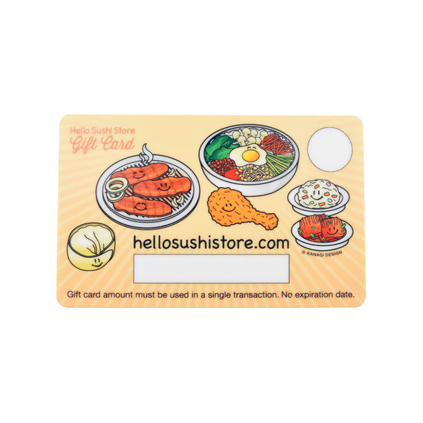 Korean Gift Card - Hello Sushi Store