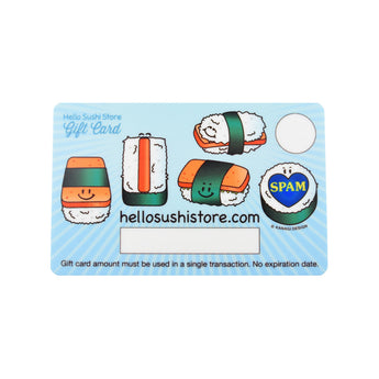 Spam Gift Card - Hello Sushi Store