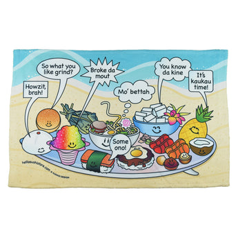 Hawaiian Slang Hand Towel