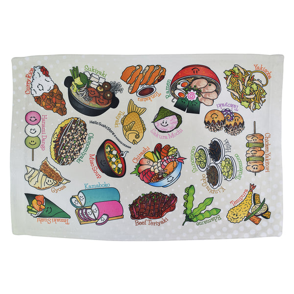 Japanese Towel by Hello Sushi Store