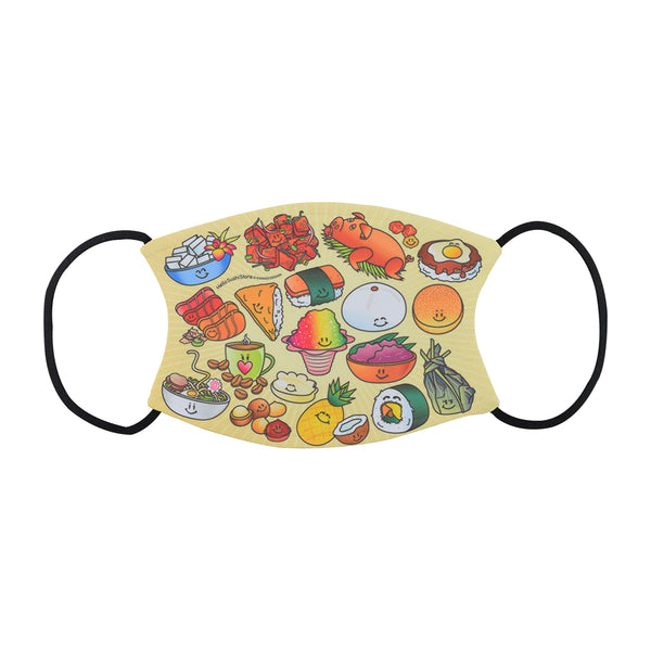 Hawaiian Face Mask by Hello Sushi Store