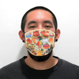 Hawaiian Face Mask (Black Filter)