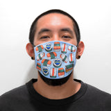Spam Musubi Face Mask by Hello Sushi Store