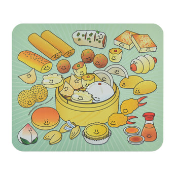 Dim Sum Basket Mouse Pad - Hello Sushi Store