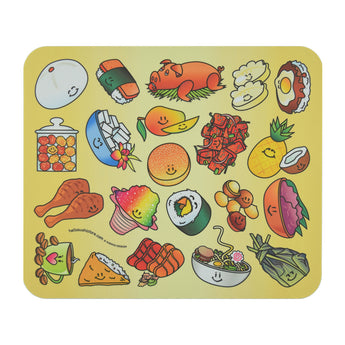 Hawaiian Mouse Pad by Hello Sushi Store