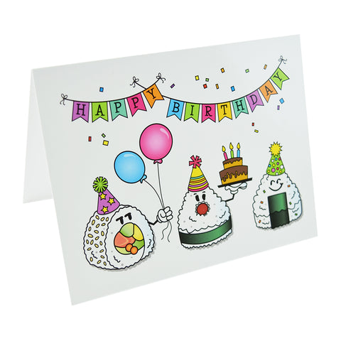 Sushi Note Cards (Birthday) by Hello Sushi Store